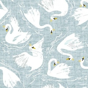 Swan Lake (cornflower)