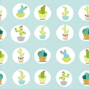 Quirky Little Cacti #1