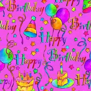 Happy Birthday! Pink