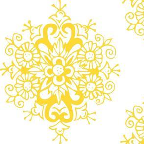 Yellow Bloom - Reversed