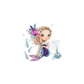 "15""x11"" Panels / 6"" Lilac Mermaid Mix & Match"