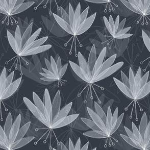 Lilly flower-Grey