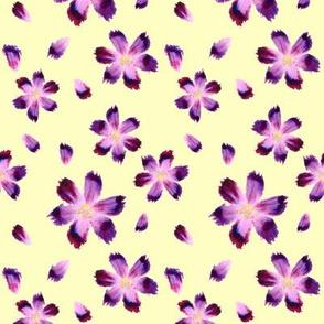 Aquarelle flowers_yellow