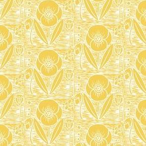 Field Poppy // golden yellow