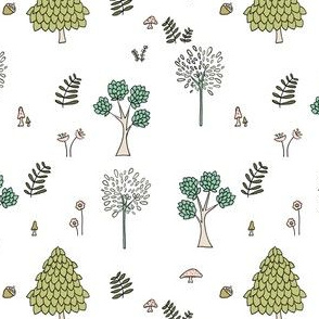 Into The Woods // by Sweet Melody Designs