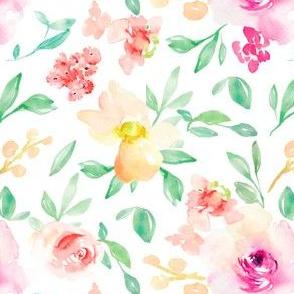 Sadie Mae Watercolor Flowers