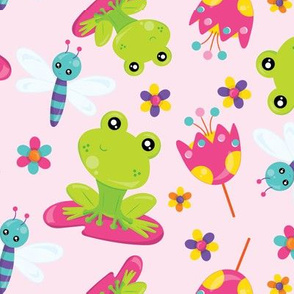 Butterfly and Frog