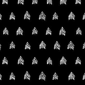 Pacific Northwest Evergreens - Black