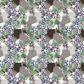 Floral Horse portraits 7