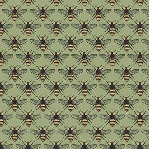 Honeybees - Green