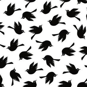 Blackbirds - Black & White