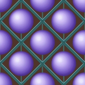 Purple Bead Pattern