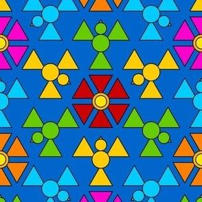 06323666 © hex triangle 3m bird bloom 3