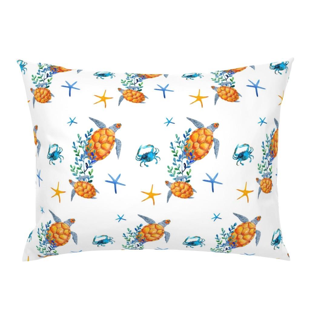 """Campine Pillow Sham featuring 8"""" OCEAN FRIENDS / SURFER BOY  MIX & MATCH by shopcabin"""