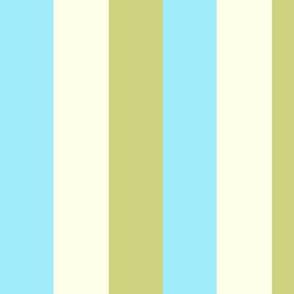 Teen Beach Stripe - Lightweight Twill