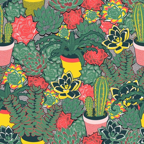 Succulents&cacti (Palette 2)