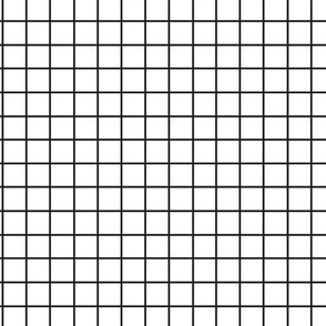 Black and White Grid