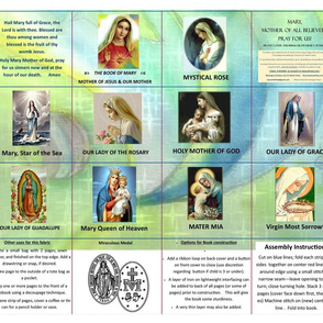 Catholic Book of Mary for Mass