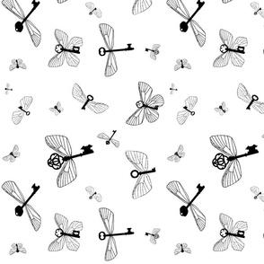 Flying Keys plain-rotated