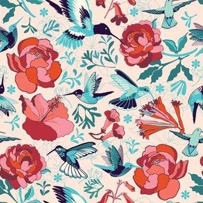 Hummingbird summerdance
