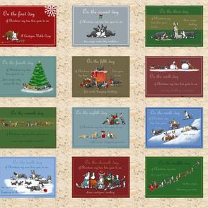 12 days of Corgi Christmas