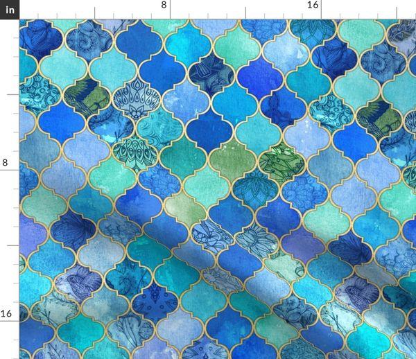 Aqua Decorative Moroccan