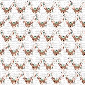 Tribal Deer Heads - Smaller