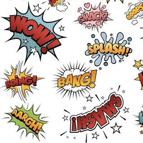 Comic Book Sound Effects