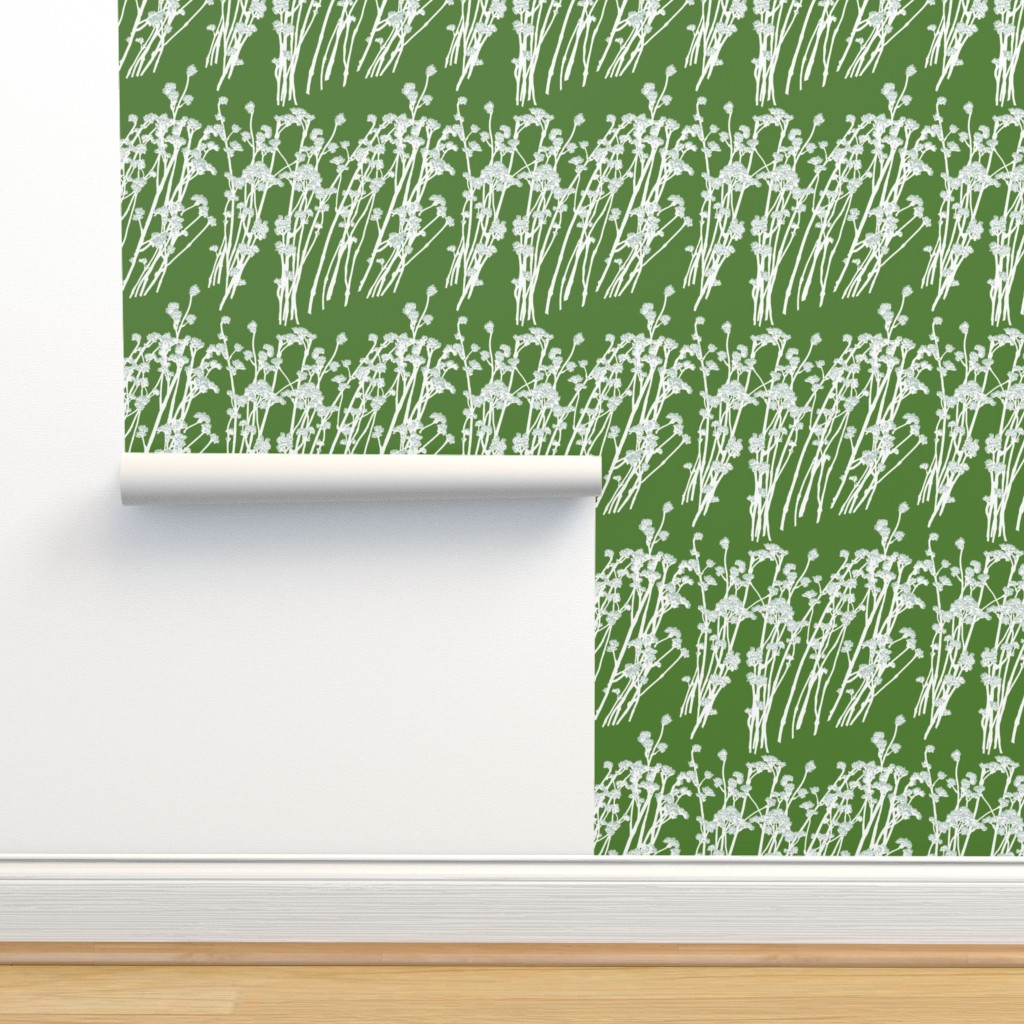Isobar Durable Wallpaper featuring desert blooms - grass by cinneworthington