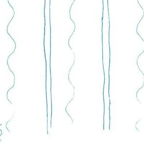 Shell Stripe blue