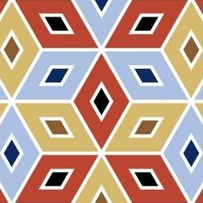 06340633 : crombus spoonflower : red + grey