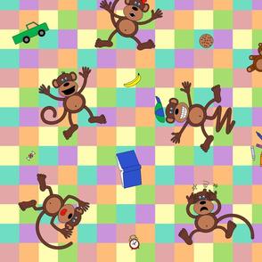 Monkeying Around (inspired by 5 Little Monkeys)