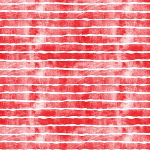 (small scale) distressed red stripes