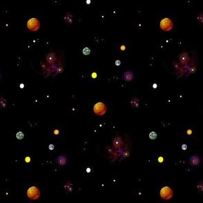 Planets Stars and Nebulas