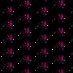 Nebulas on black