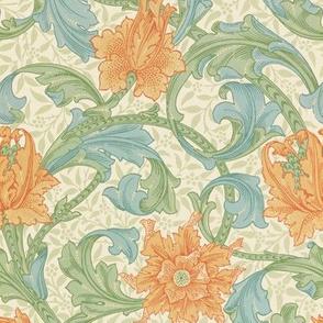 William Morris ~ Single Stem  ~ Original ~ Small