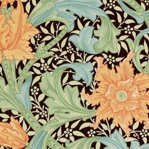 William Morris ~ Single Stem  ~ Original on Senart