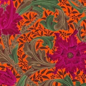 William Morris ~ Single Stem  ~ Jungle on Marquise