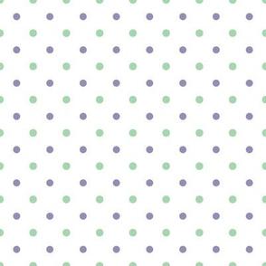 ABC Polka Dot White