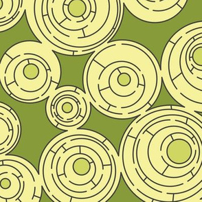 Maze in Greens, alternate