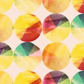 Watery Color Wheels