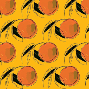 My Watercolor Peach