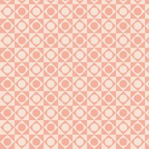 Peach geometric repeat