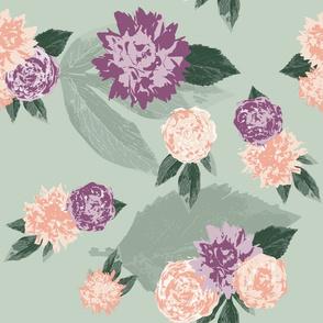 Vintage floral MINT