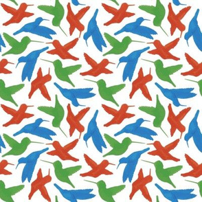 Hummingbird Repeat (rainbow)