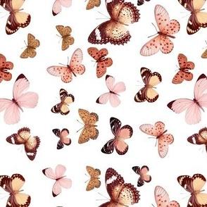 Butterfly Rose Gold // standard