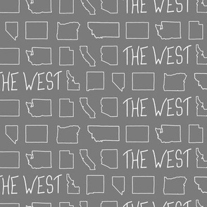 States of The West - Grey