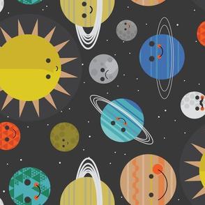 Solar System Buddies Rotated