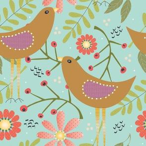 Blooms & Birdies