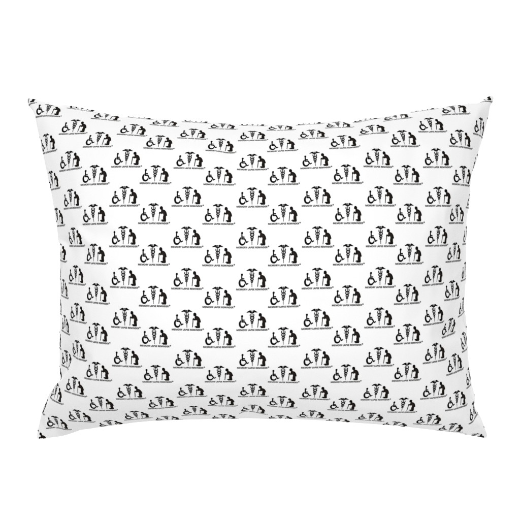 Campine Pillow Sham featuring The Reminders (a) by chloejsmith